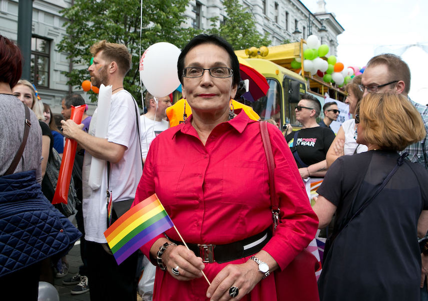 Ausrine Pavilioniene is a former Lithuanian parliamentarian and a staunch LGBT rights supporter