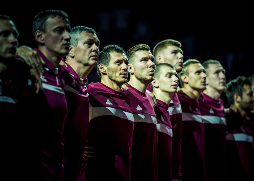 Latvian National Basketball Team ready to surprise all