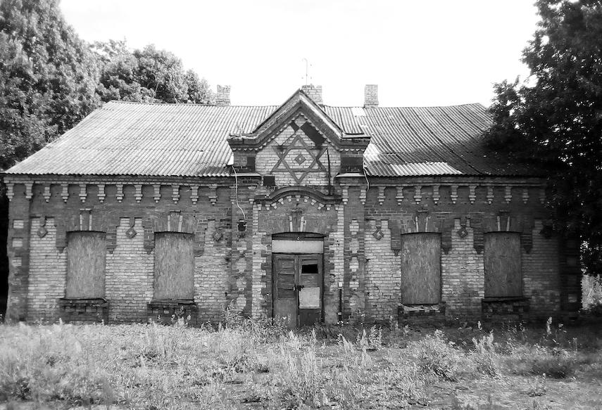 The former Talmud Torah School in Kalvarija.