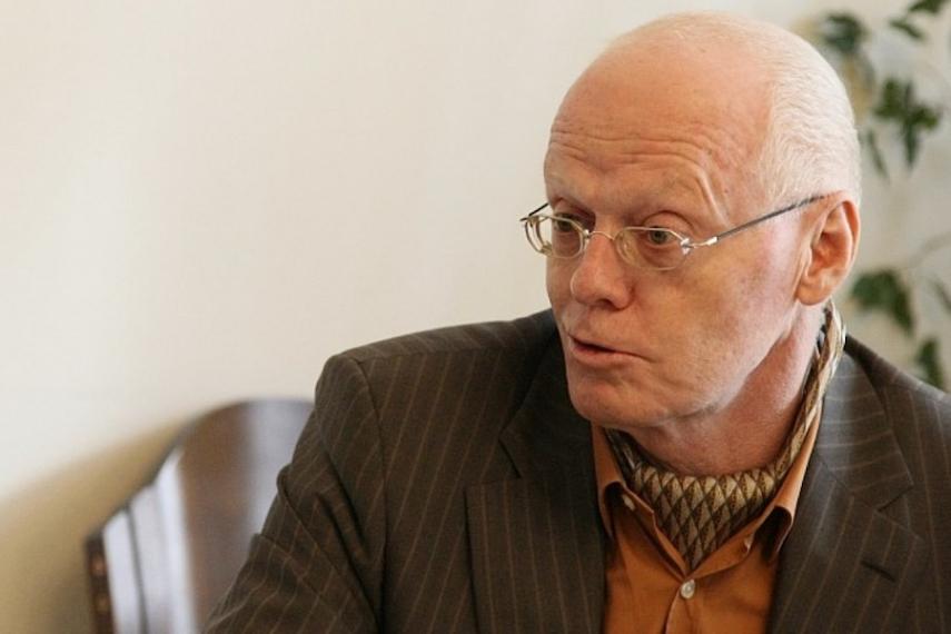 Latvia's former prime minister Valdis Birkavs