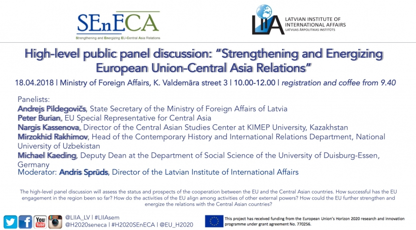 Strengthening and Energizing European Union-Central Asia Relations