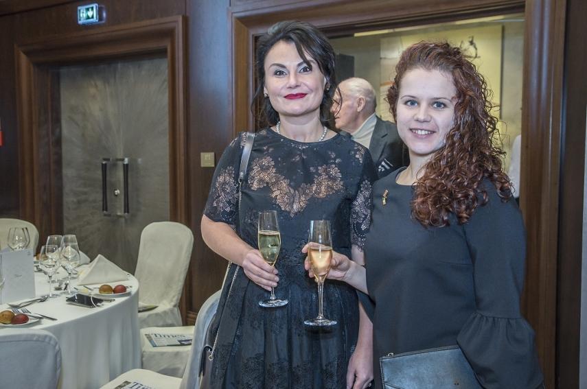 Ksenija Levcenko, Anita Bautre (both from Embassy of Ireland)