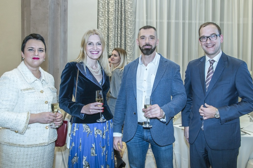 Gunda Reire, Advisor To The Minister at Ministry of Foreign Affairs Latvia, Arta Snipe, Managing Partner at ZAB Amicus Curia, GLinas Jegelevicius, Editor in chief of The Baltic Times, Ansis Spridzans, Managing Partner at Law Office Spridzans.