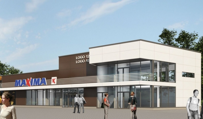 Colonna is going to build a small modern shopping centre in