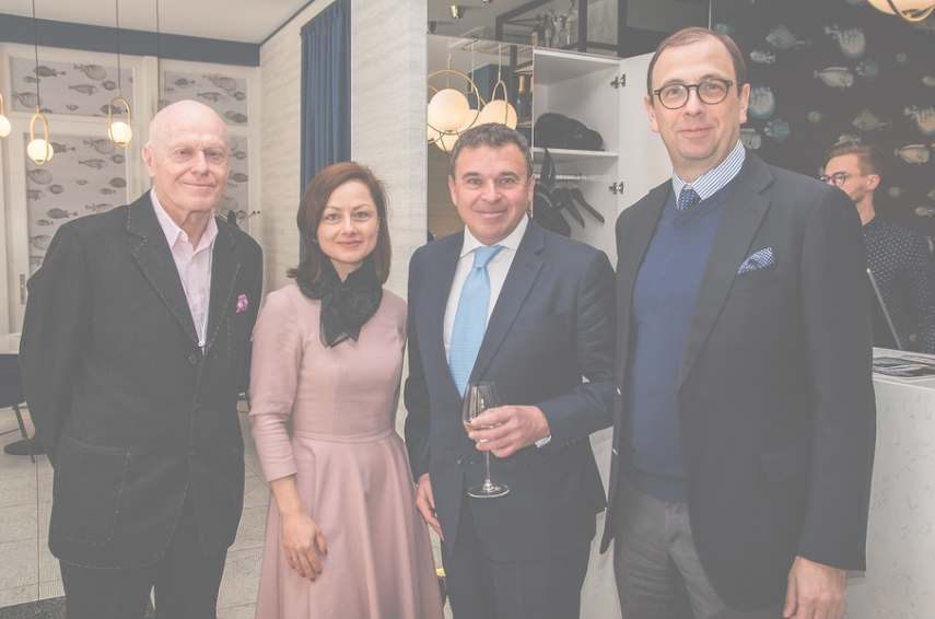 Valdis Birkavs, Latvia's former Prime Minister, businesswoman and lecturer Olga Kazaka, Gene Zolotarev, publisher of The Baltic Times, and Vlad Koriagin, CEO of Baltic Travel Group