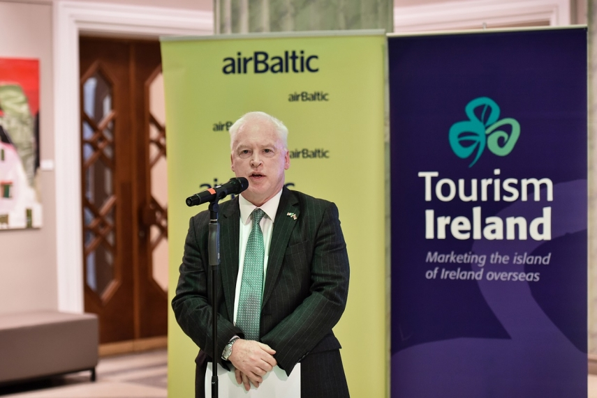 PHOTO: Jim Hennessy, Ireland's Ambassador to Latvia