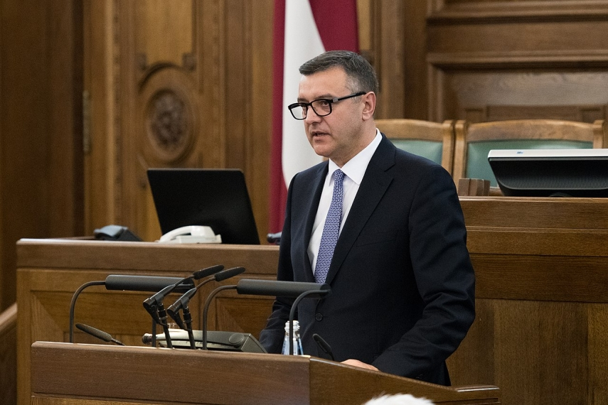 Photo: Saeima
