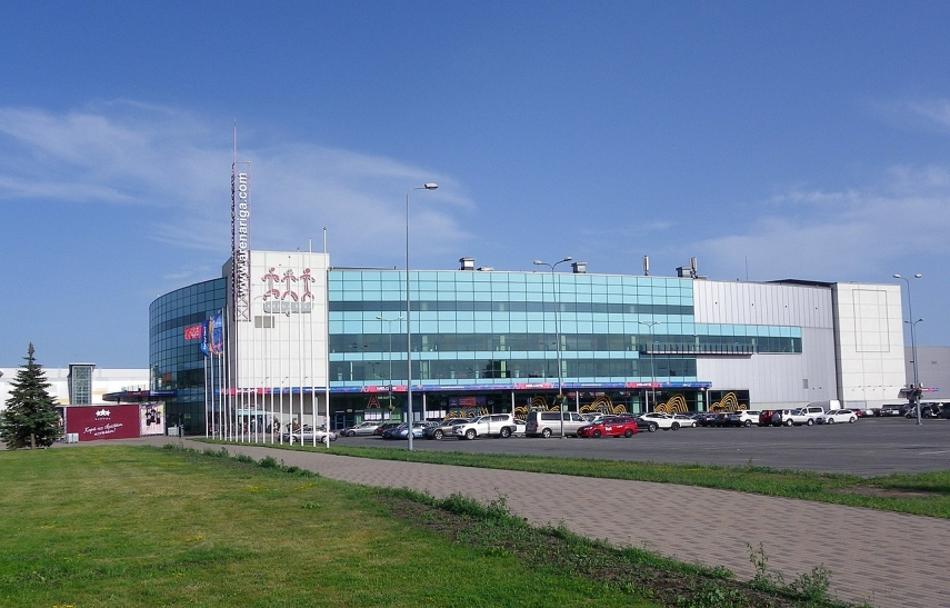 All Arena Riga shares pledged in favor of Latvia's Expobank and Czech Republic's Expobank