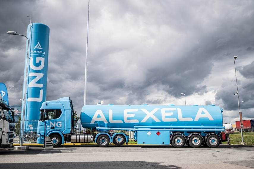 Alexela opens filling station offering the world's widest selection of fuels