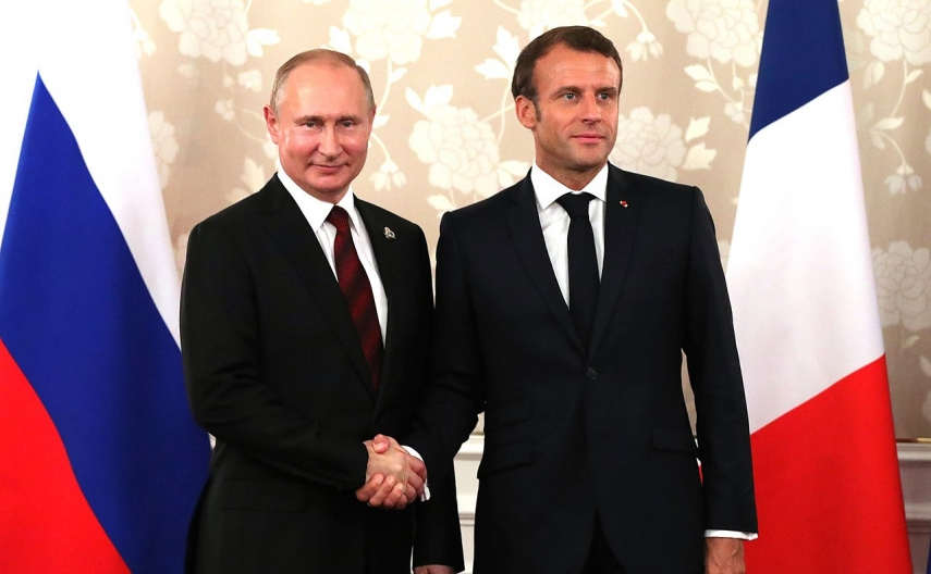 Macron suggests resetting EU-Russia relations