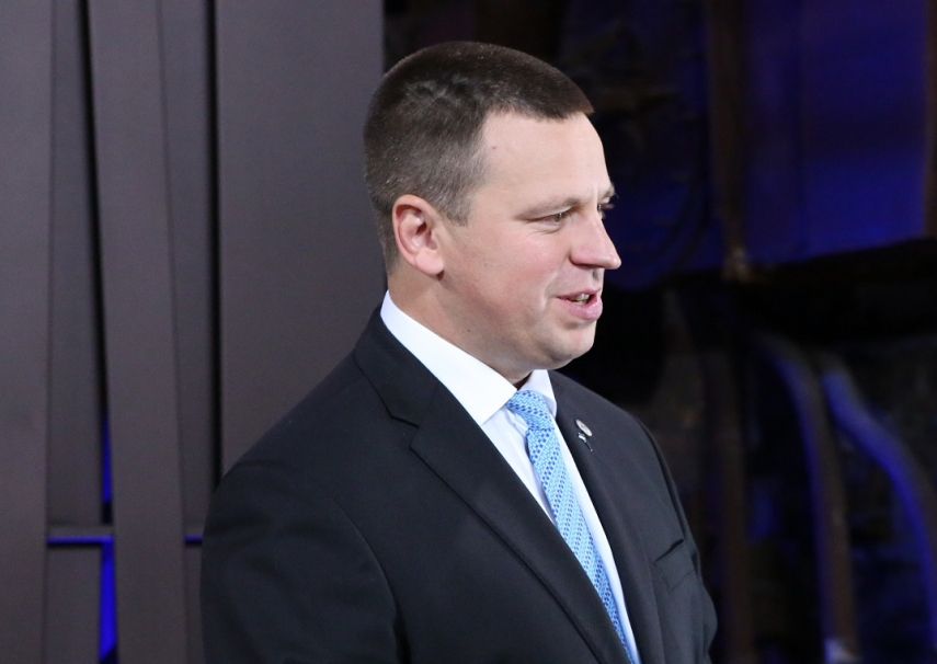 Estonian PM: I choose peaceful working atmosphere, all must make effort to maintain it