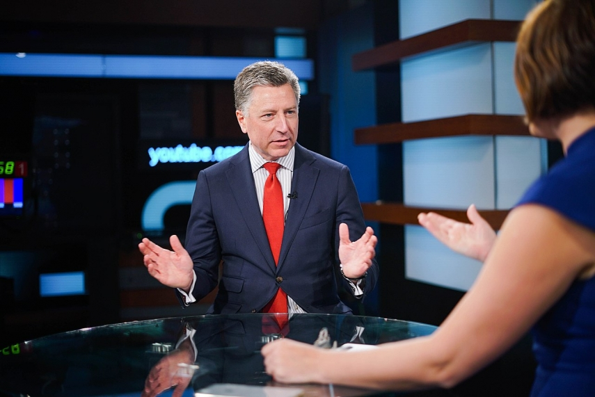 US backs talks on eastern Ukraine conflict, would join if needed, Volker says - BNS SPECIAL