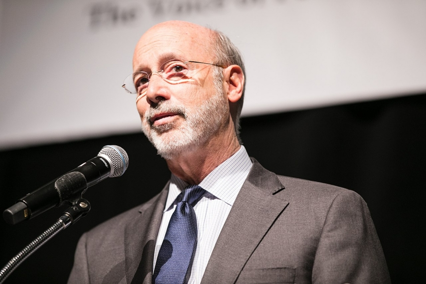 Photo: Governor Tom Wolf from Harrisburg, PA