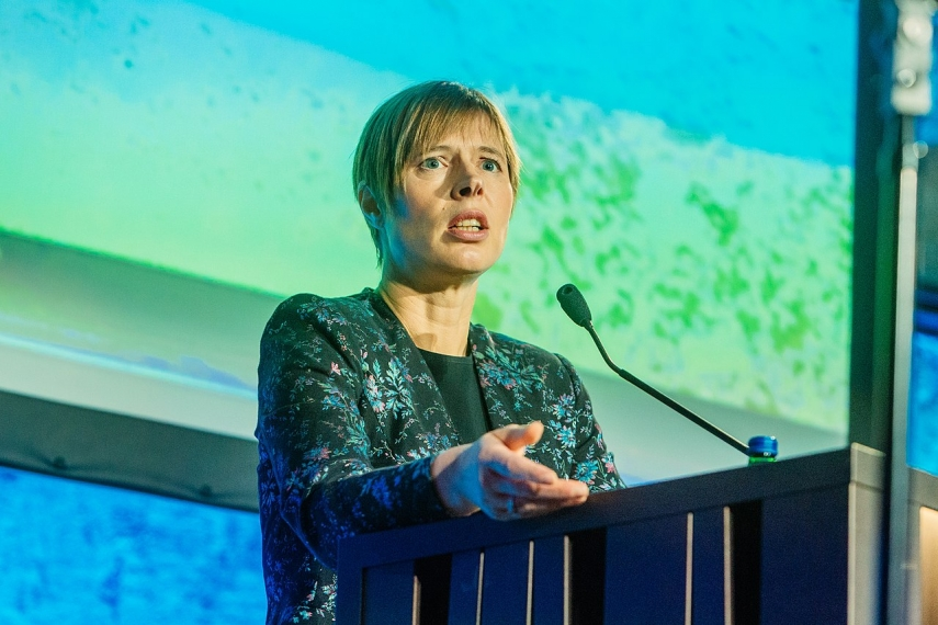Estonian president at World Energy Congress: First countries to go green will gain