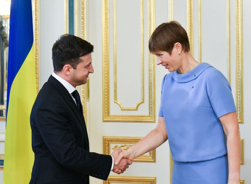 Estonian president on working visit to Ukraine