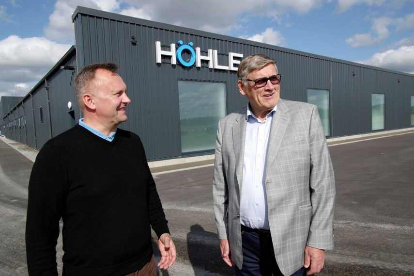 Microduct manufacturer Höhle opens a new factory