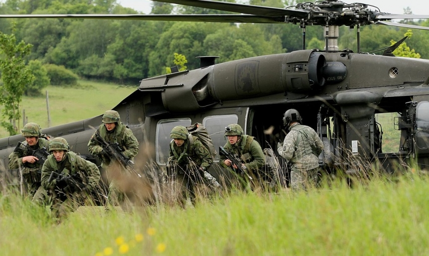 Photo: 7th Army Joint Multinational Training Command from Grafenwoehr, Germany