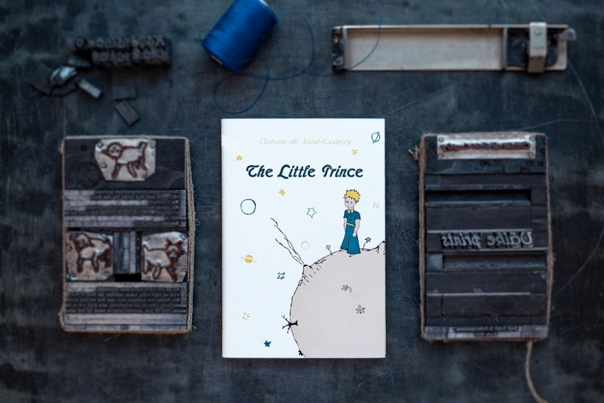 "A limited letterpress edition of ""The Little Prince"" to be published"