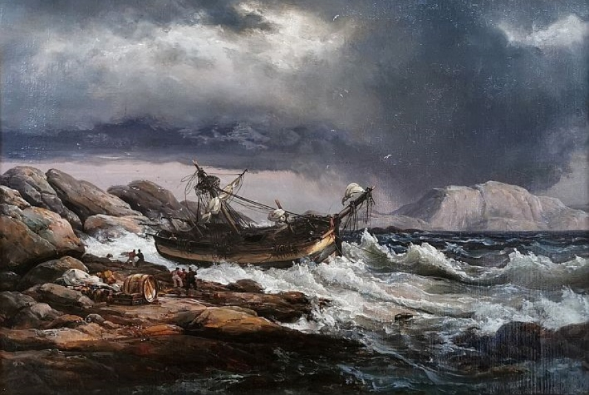 Marine Art of the 19th Century