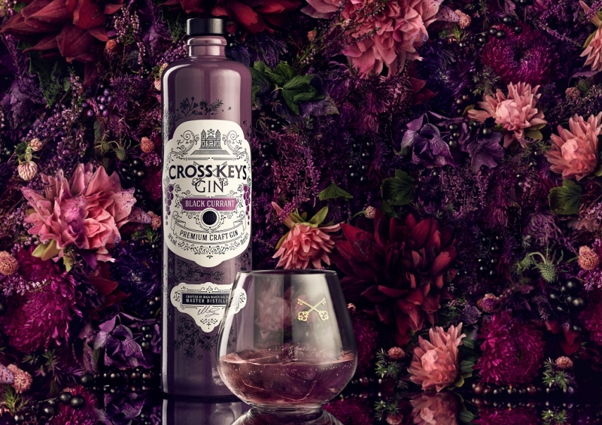 Amber Beverage launches premium gin with a blush of black currant