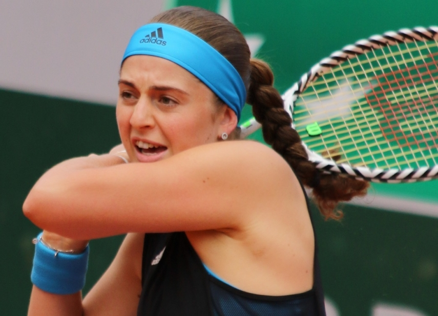 Latvian tennis star Jelena Ostapenko good prospects to win season's first WTA title