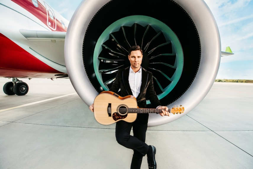 airBaltic presents new music on Airbus A220-300 board composed by Marcis Auzins