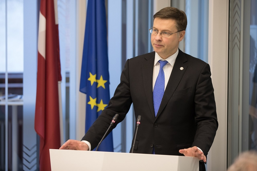 World and Latvia are not going to face such crisis as ten years ago - Dombrovskis
