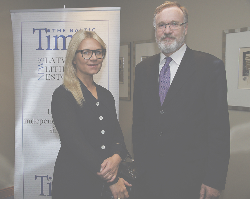 Vita Liberte, CEO of BDO Law Firm, and Ziedonis Ūdra, CEO of Skudra & Ūdris Attorneys at Law