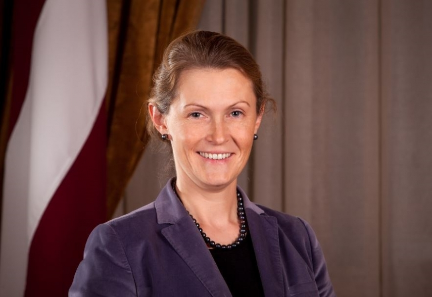 Latvia's Permanent Representative to EU Pavluta-Deslandes to attend meeting of EU Foreign Affairs Council