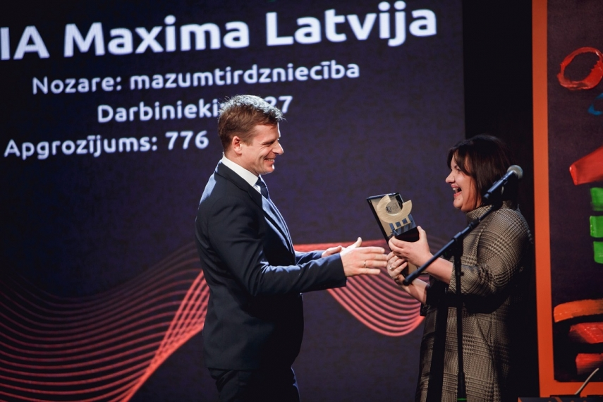 Maxima recognized as top employer for the fourth time