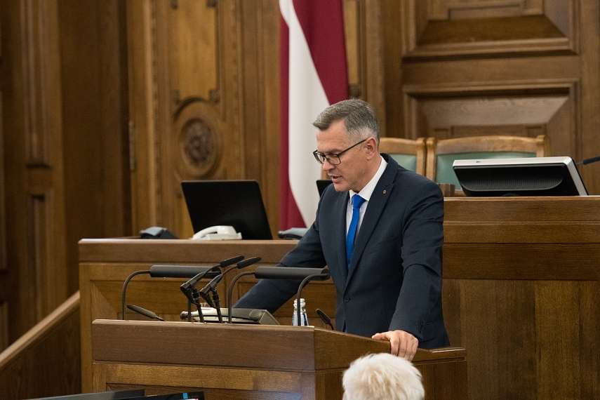 I am against raising taxes to cover budget deficit - Latkovskis