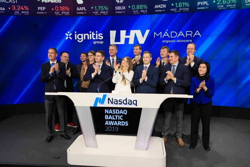 Ignitis Group's CEO promise in the stock exchange in New York: we will back here soon