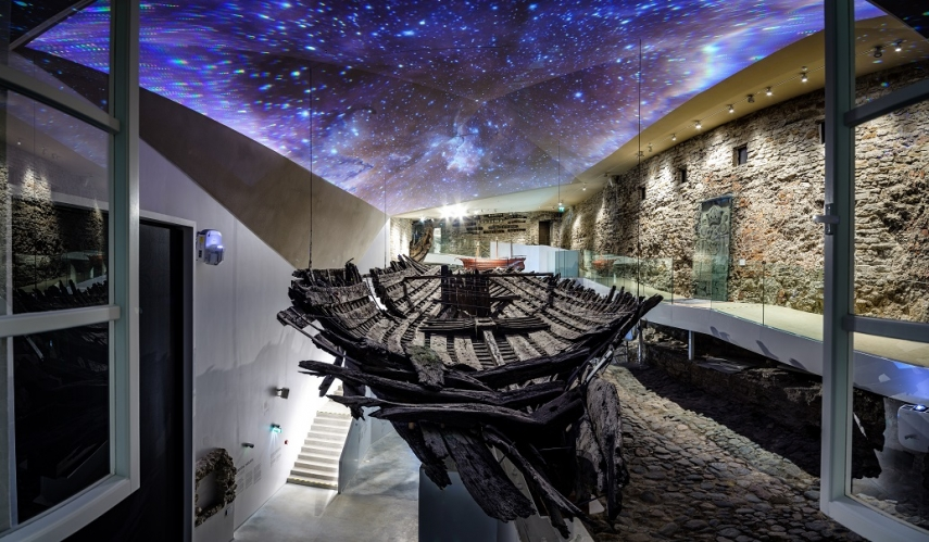 Estonian Maritime Museum surprises visitors with 700 years old ship wreck