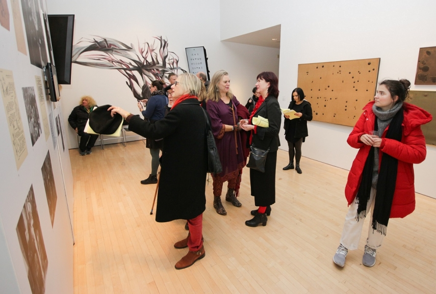 """Opening of the exhibition """"Portable Landscapes: Memories and Imaginaries of Refugee Modernism"""""""