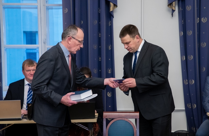 University of Tartu hosted the Government of Estonia