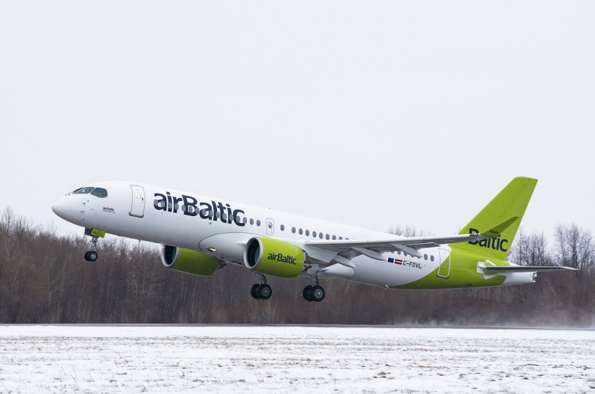 airBaltic carries 20% more passengers in November