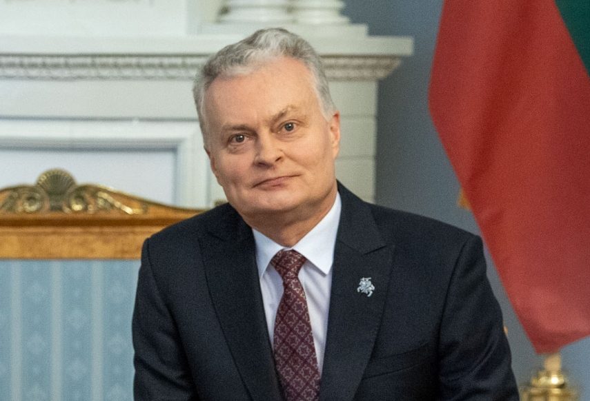 Lithuanian president signs bill on restrictions for electricity from Belarus' N-plant