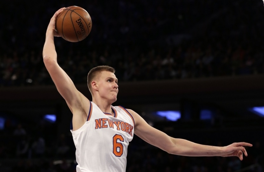 Porzingis ranks sixth in 2020 NBA All-Star voting first returns
