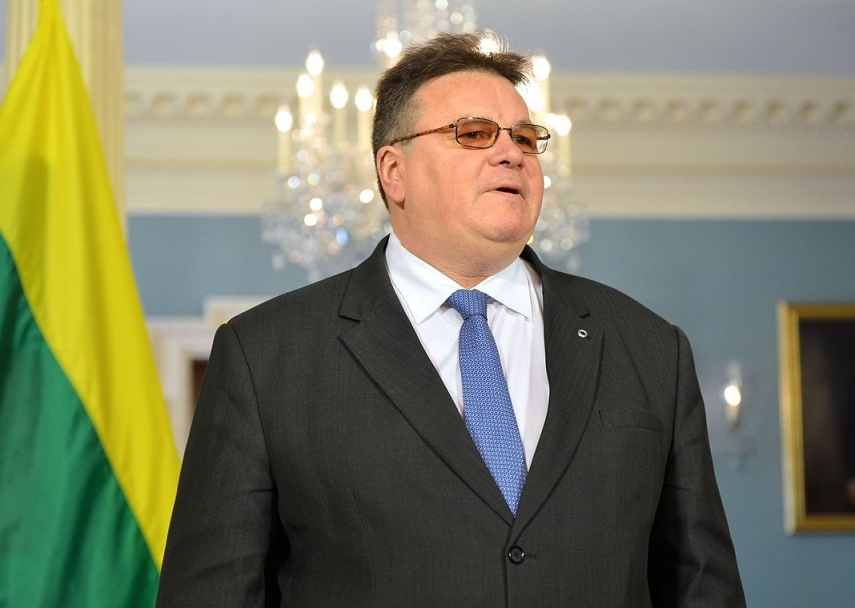 Lithuanian formin, EU counterparts to discuss Middle East situation in Brussels