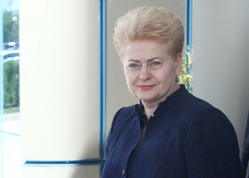 Grybauskaite says she rejected initiative on intelligence's preventive conversations