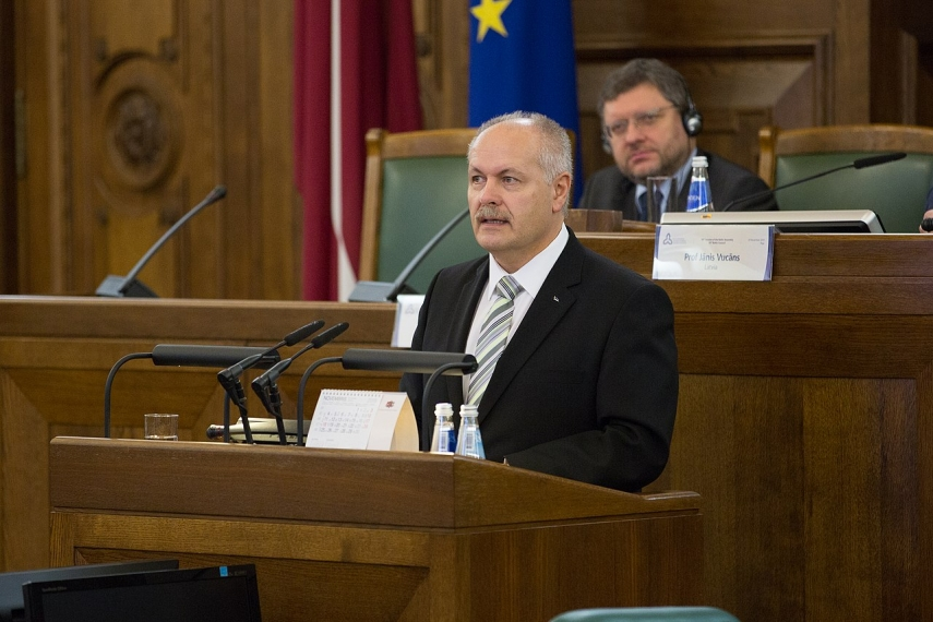 Estonian parlt speaker to welcome personnel of Polish Air Forces at Amari air base