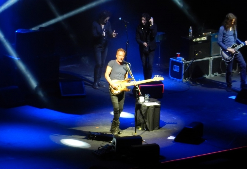 Sting to perform his only concert in Baltics this year at Arena Riga in October