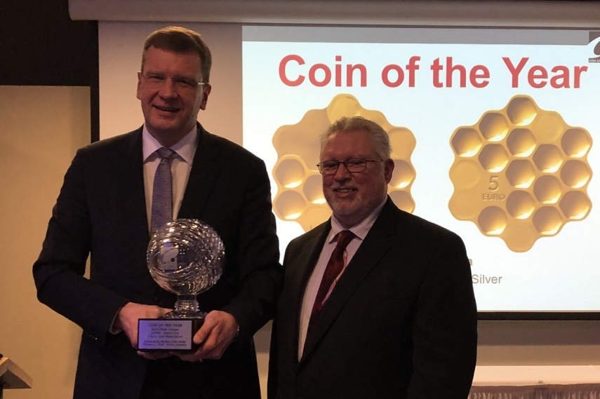 Historic success: Coin of the Year Award goes to Honey Coin