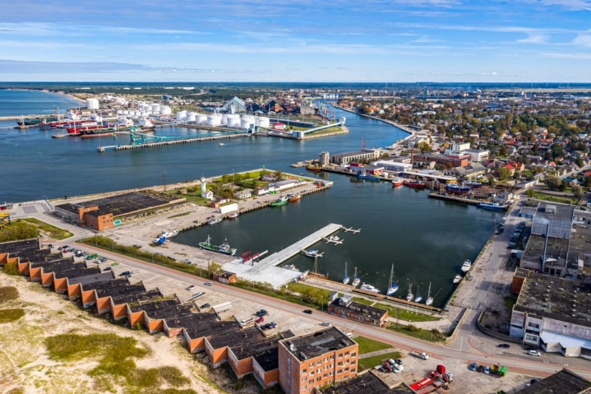 Ventspils yacht port: sustainable development