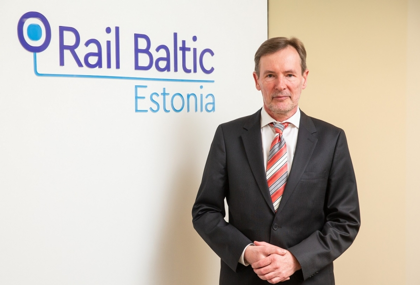 Telecom executive Tõnu Grünberg appointed as the CEO of Rail Baltic Estonia