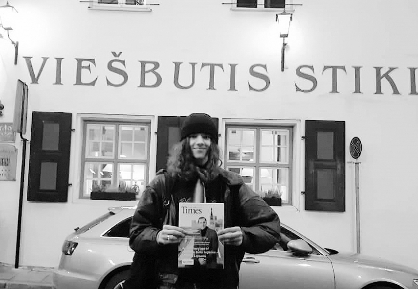 The Baltic Times Magazine making its way to hotspots in Baltic capitals