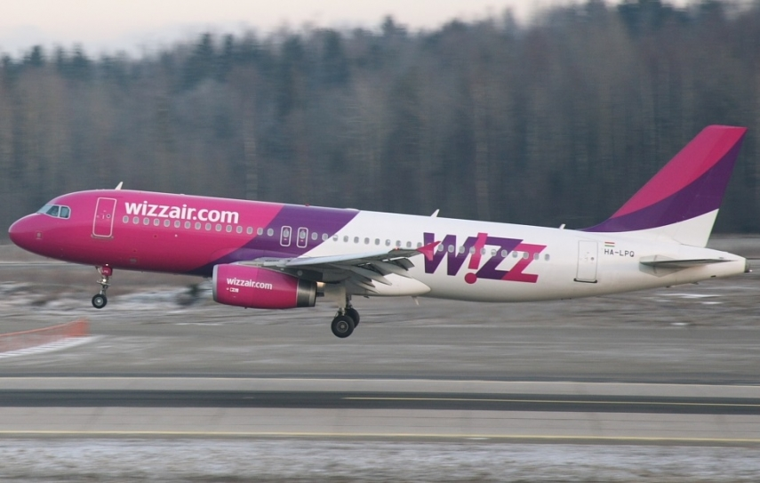 Wizz Air Temporarily Cancels Some Flights From Vilnius To Tel Aviv Due To Virus