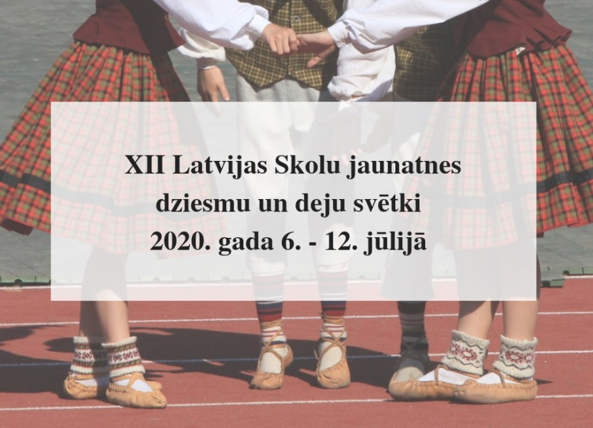Latvian Youth Song and Dance Festival to be postponed to 2021