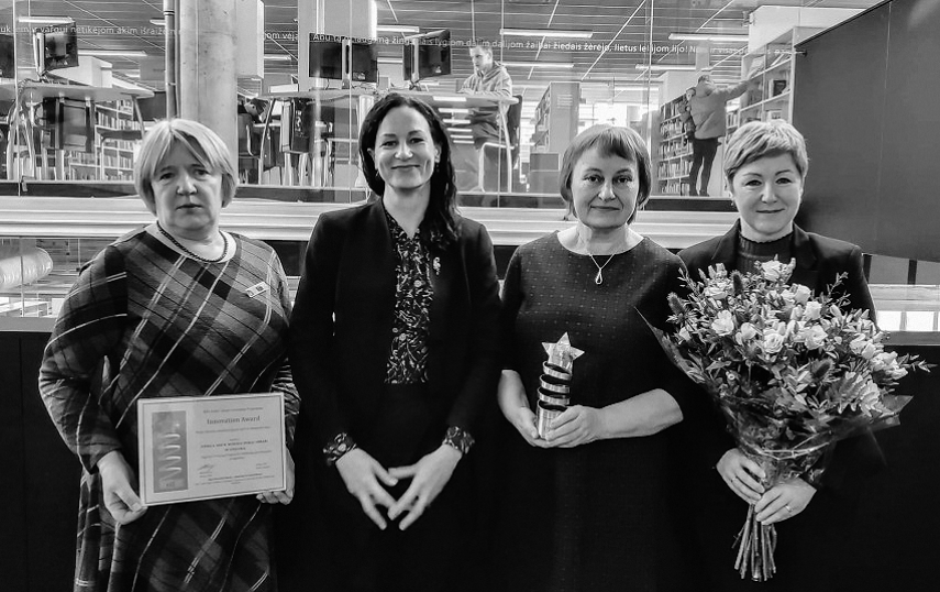 Lithuania's Utena public library won important Library award