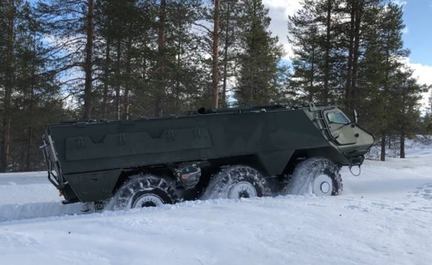 Patria's 6x6 vehicle platform interests also Estonia